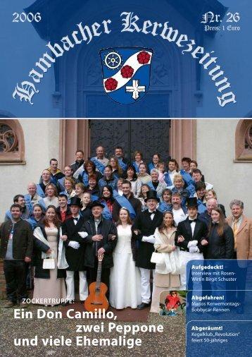 Nr. 26 2006 - Hambacher Brennesselkerwe