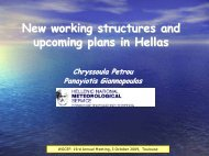 New working structures and upcoming plans in Hellas
