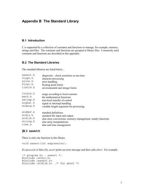 Library Summary - tmarris.com