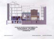 Avance del proyecto de equipamiento - Aragon Digital