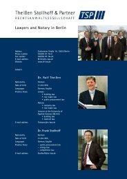 Lawyers and Notary in Berlin - lawlink