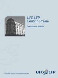 UFG-LFP Gestion Privée - La Française AM