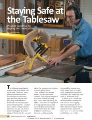 42-Table Saw Safety3.indd - Woodcraft Magazine