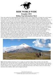 Ecuador 2011.pub - Ride World Wide