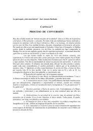 PROCESO DE CONVERSIÓN - Espiritualidad Marianista