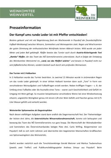 PT_Der_Kampf_ums_runde_Leder [PDF/492.14kB] - Weinviertel DAC