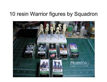 Warrior 1/35 PT Boat Figures - IPMS Santa Rosa
