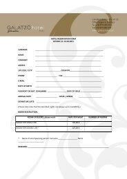 HOTEL-RESERVATION FORM EXTEDO 12.-14.04.2011 SURNAME ...