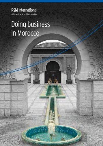 Doing business in Morocco - RSM International