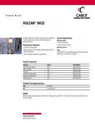 VULCAN® 9A32 - Cabot Corporation