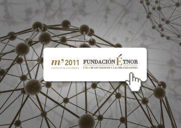 Memoria de Actividades 2011 - Fundación Étnor