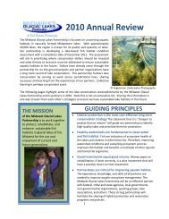 2010 Annual Review - National Fish Habitat Partnership