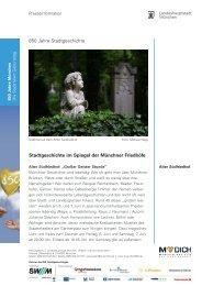 Stadtgeschichte im Spiegel  der Münchner Friedhöfe