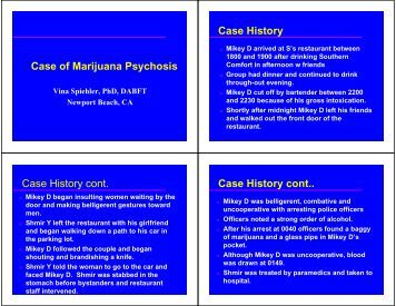 legalization of cannabis research paper
