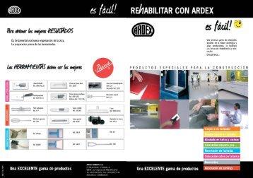catalogo rehabilitacion