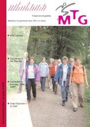 V ereinsnachrichten- Ausgabe 2/2009 - MTG Horst