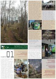 Newsletter - Numero 1 - Osservatorio del paesaggio del Canale di ...
