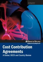 Cost Contribution Agreements
