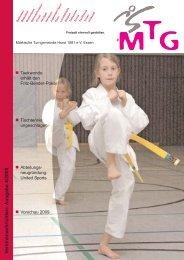 V ereinsnachrichten- Ausgabe 4/2008 - MTG Horst