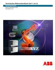Technisches Referenzhandbuch (teil 1 von 2)