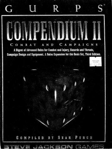 GURPS - Compendium 2..