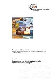 Endbericht - Universität Stuttgart