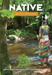Official guide to Native American communities in Wisconsin
