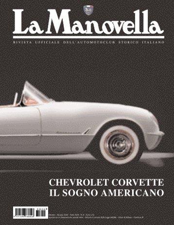 chevrolet corvette il sogno americano - Automotoclub Storico Italiano