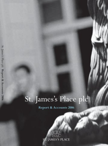 Report & Accounts 2006 - St James's Place