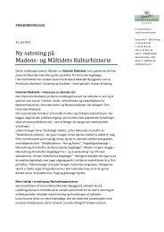 pressemeddelelse - Ny Nordisk Mat