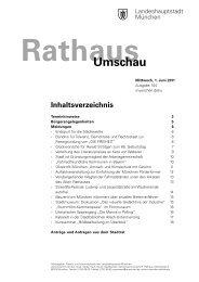 Rathaus Umschau