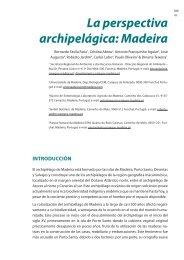 La perspectiva archipelágica: Madeira - Portal da Biodiversidade ...