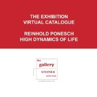 the exhibition virtual catalogue reinhold ponesch ... - gallery STEINER