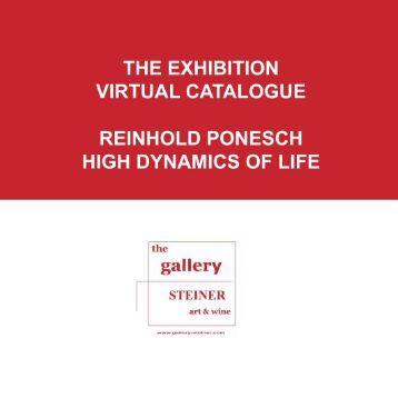 the exhibition virtual catalogue reinhold ponesch ... - gallery STEINER