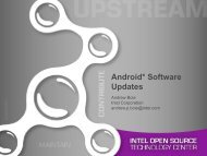 Android Software Updates - The Linux Foundation