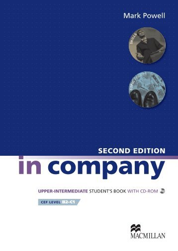 In Company Second Edition Upper Intermediate Student's BookUnit ...