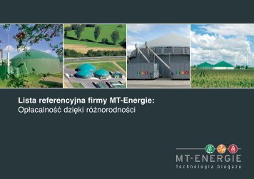 Lista referencyjna firmy MT-Energie ... - MT-Energie GmbH