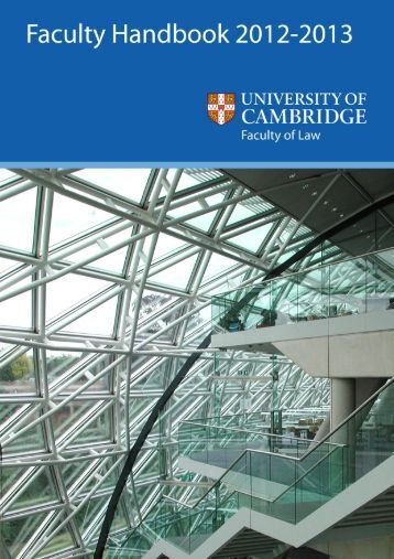 start the download - Faculty of Law - University of Cambridge