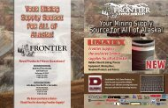 to Download our NEW Mining Brochure! - Frontier Supply
