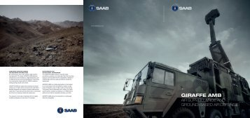 Defence and ...GIRAFFE AMB Multi-Mission RadaR systeM ... - Saab