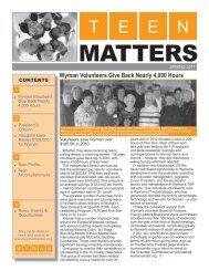 MATTERS - WYMAN