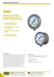 und Differenzdruck - PKP Prozessmesstechnik GmbH