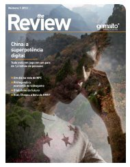 The Review - número 1 - 2012 - Gemalto