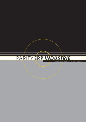 PARITY ERP INDUSTRIE - Parity Software GmbH