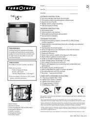 Thei5TM - Turbochef