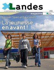 Xlandes Magazine N°18 - Conseil général des Landes