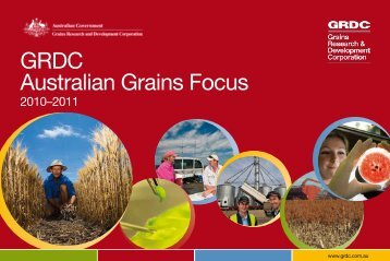 GRDC Australian Grains Focus - Grains Research & Development ...