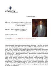 Agostino CILARDO - web journal - Università degli studi di Napoli L ...