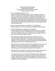 February 4, 2013 Minutes - City of Woodland Park