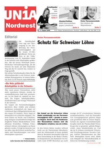 Unia Nordwest - in.f.a.m. Medienbüro